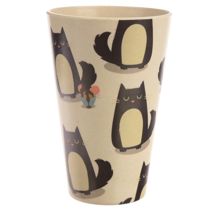 Bamboo Composite Feline Fine Cat Cup