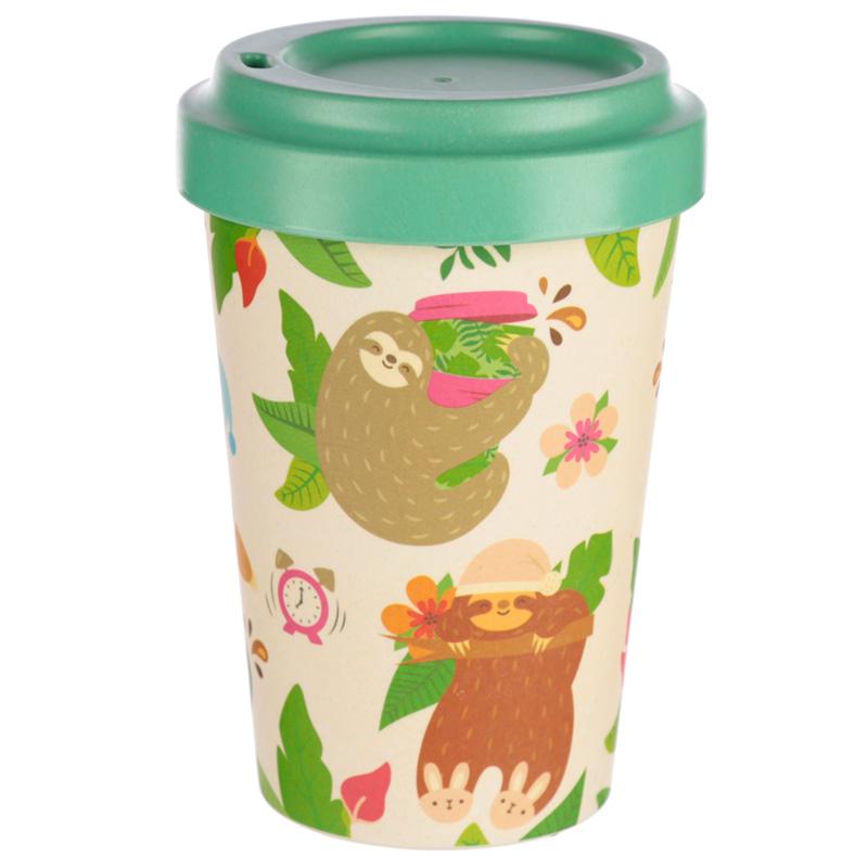Bamboo Composite Sloth Travel Mug