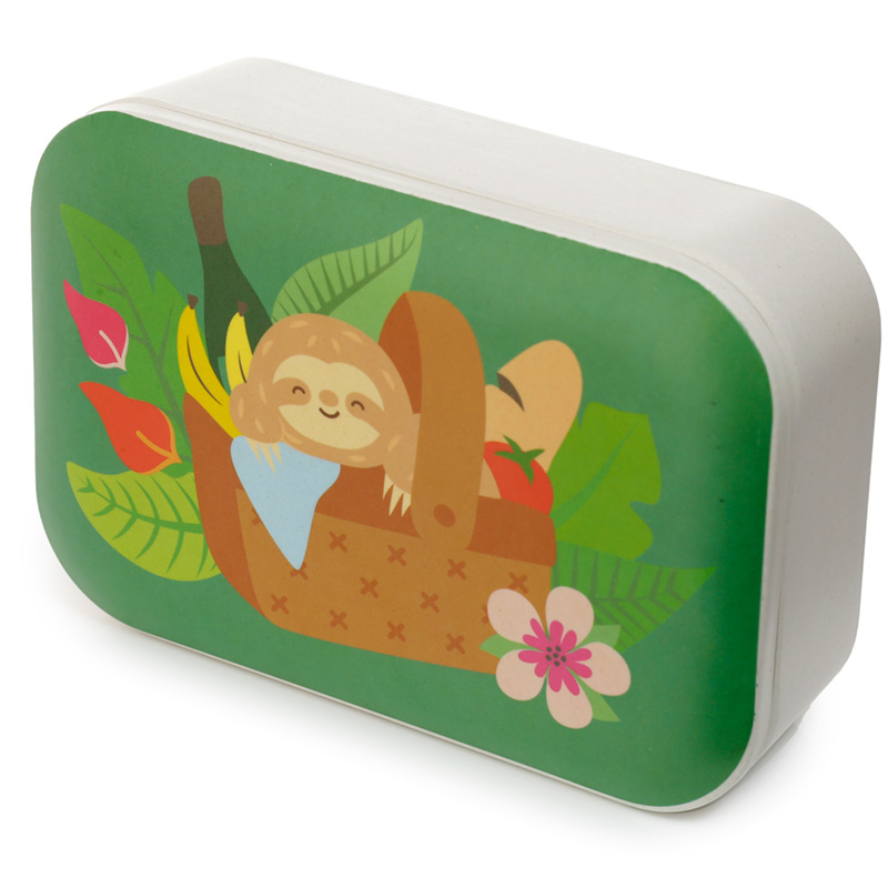Bamboo Composite Sloth Lunch Box