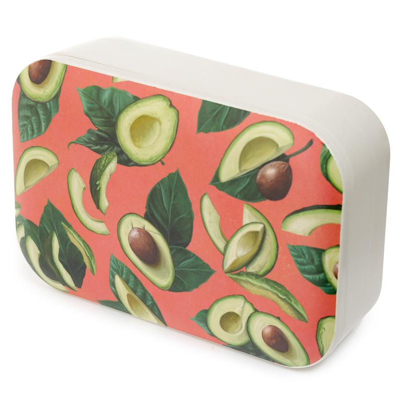 Bamboo Composite Avocado Lunch Box