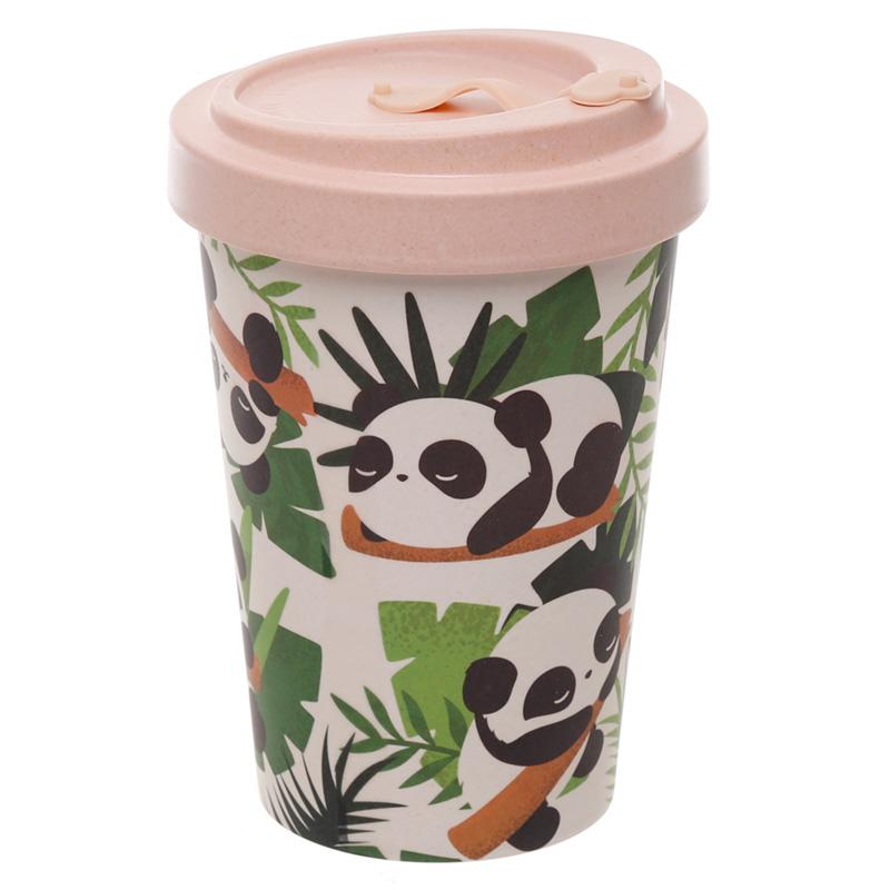 Bamboo Composite Pandarama Screw Top Travel Mug