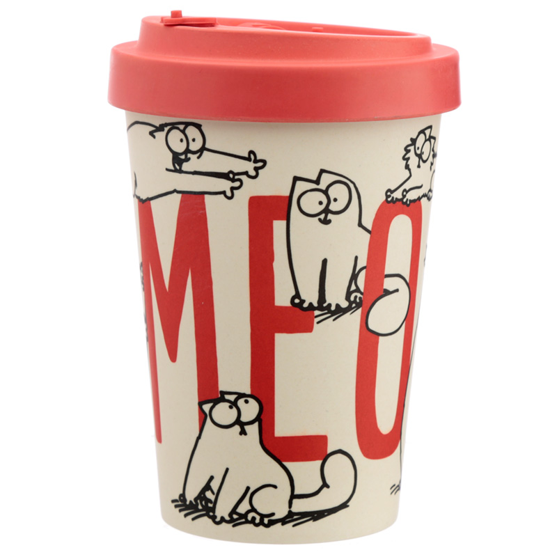 Bamboo Composite Simon039s Cat Screw Top Travel Mug