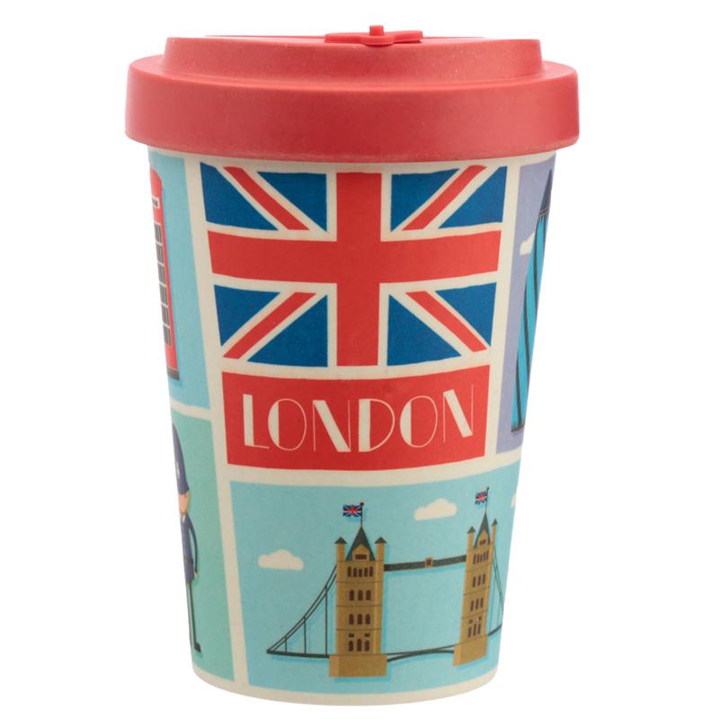 Bamboo Composite London Screw Top Travel Mug