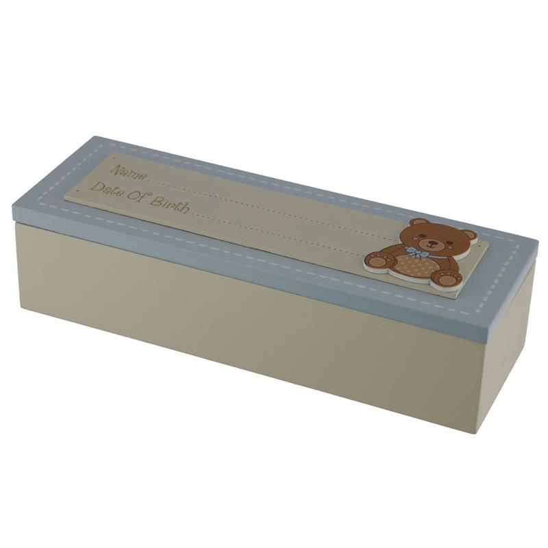 Baby Boy Keepsake Box Date of Birth
