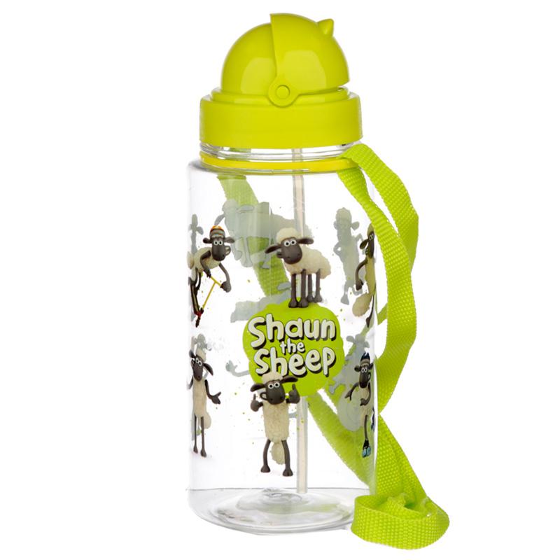 Fun Shaun the Sheep 450ml Childrens Water Bottle