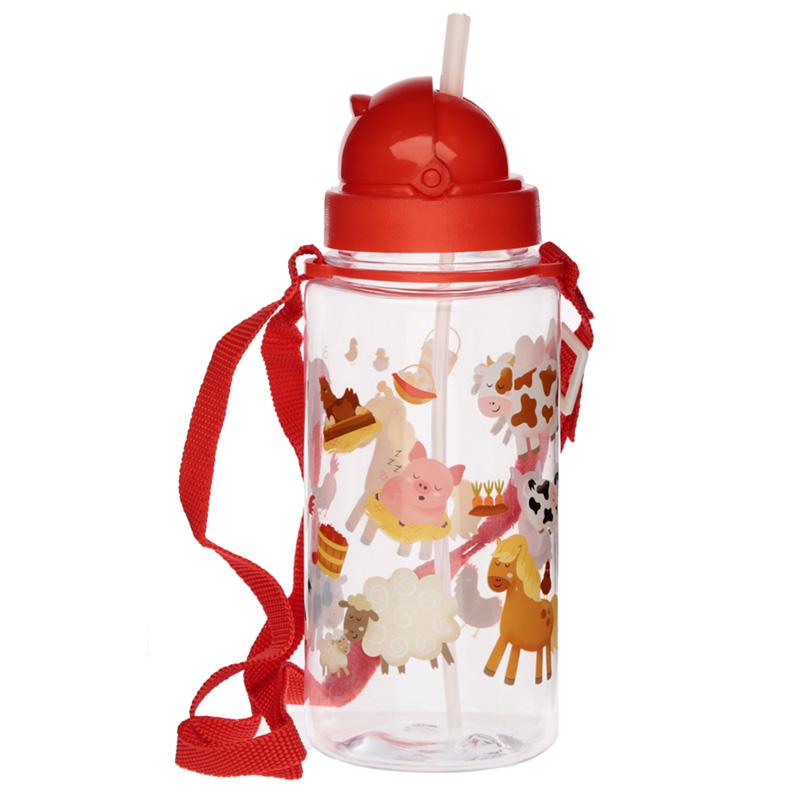 Fun Bramley Bunch Farm Design 450ml Childrens Water Bottle