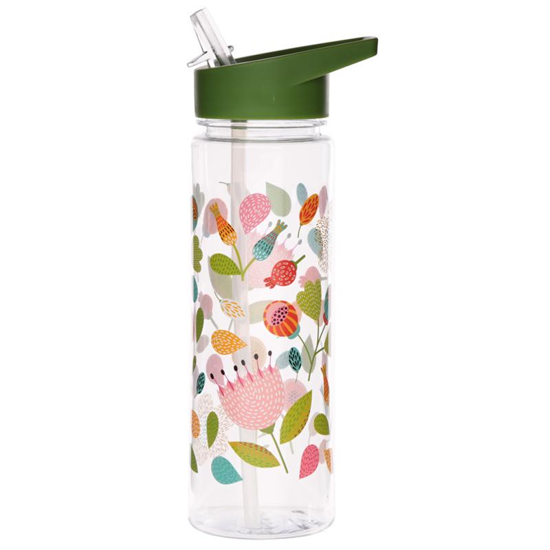 Reusable Floral Autumn Falls 550ml Water Bottle