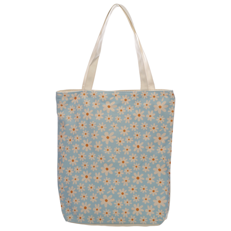 Handy Cotton Zip Up Shopping Bag Oopsie Daisy