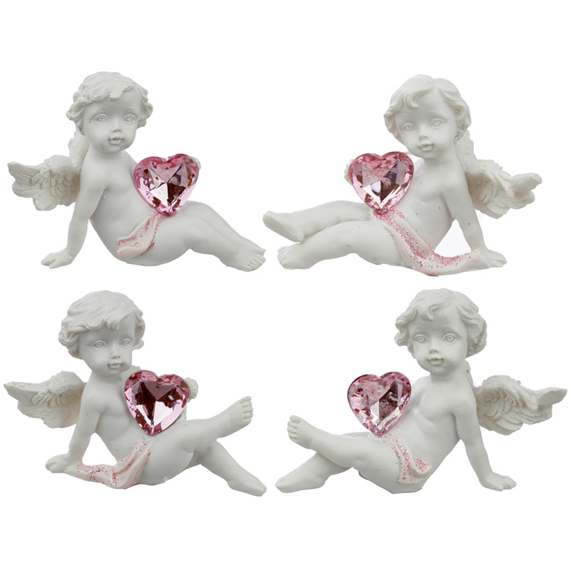 Collectable Peace of Heaven Cherub Playful Heart