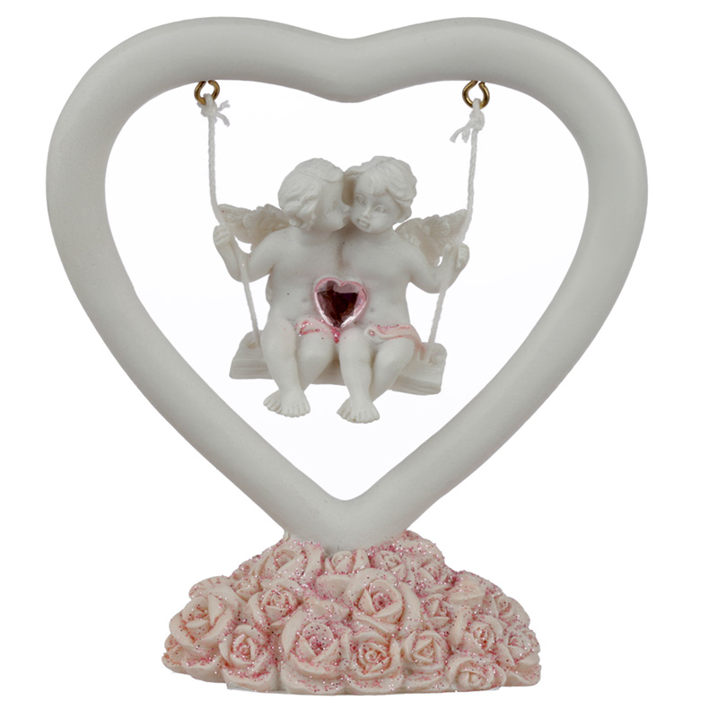 Collectable Peace of Heaven Cherub Whispers of the Heart