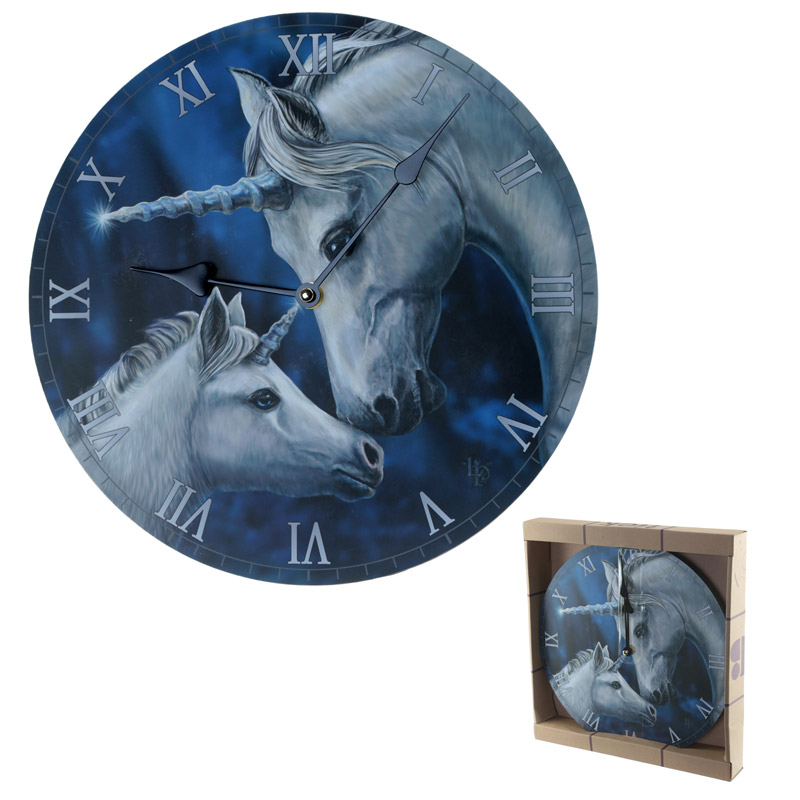 Decorative Fantasy Sacred Love Unicorn Wall Clock