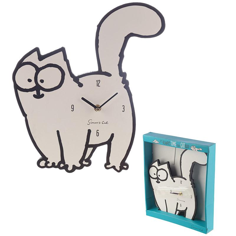 Decorative Simons Cat Wall Clock