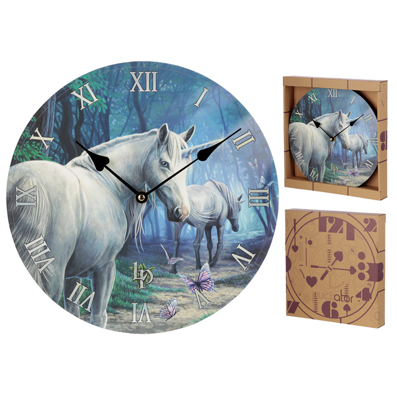 Decorative Unicorn The Journey Home Lisa Parker Wall Clock