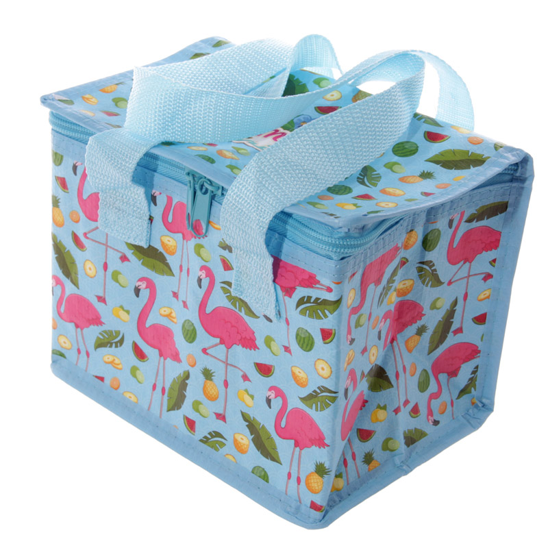 Fun Flamingo Design Lunch Box Cool Bag