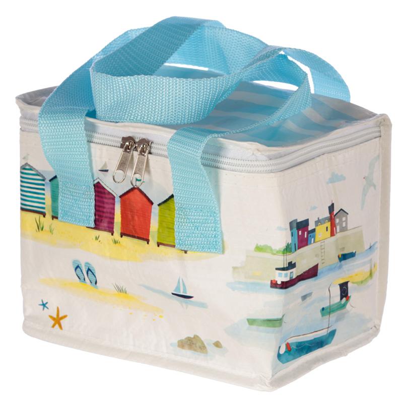 Seaside Beach Design Lunch Box Cool Bag