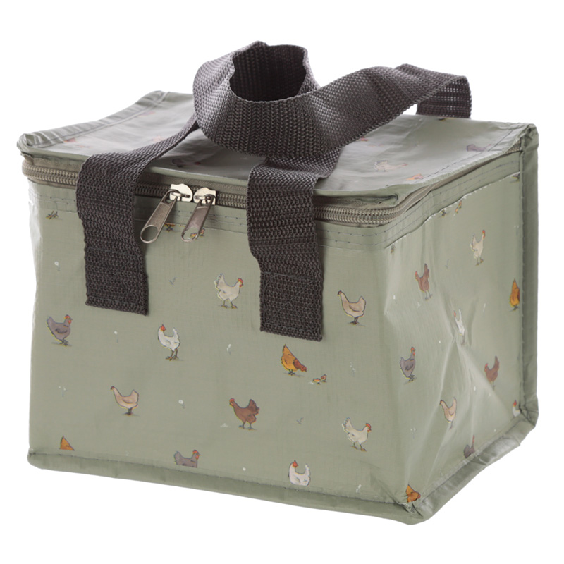 Willow Farm Chickens Lunch Box Cool Bag