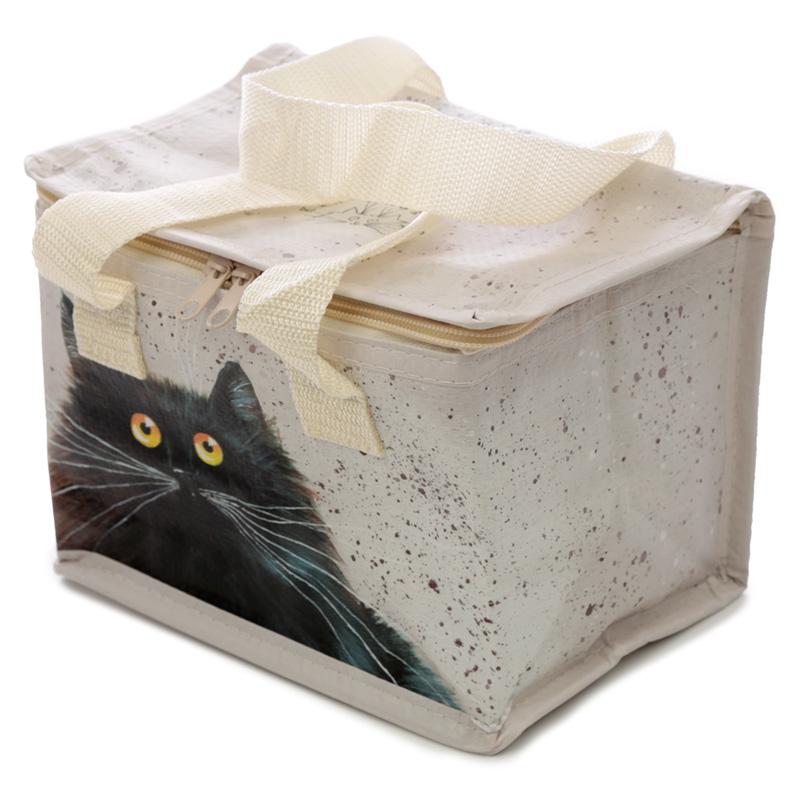 Kim Haskins Cat Lunch Box Cool Bag