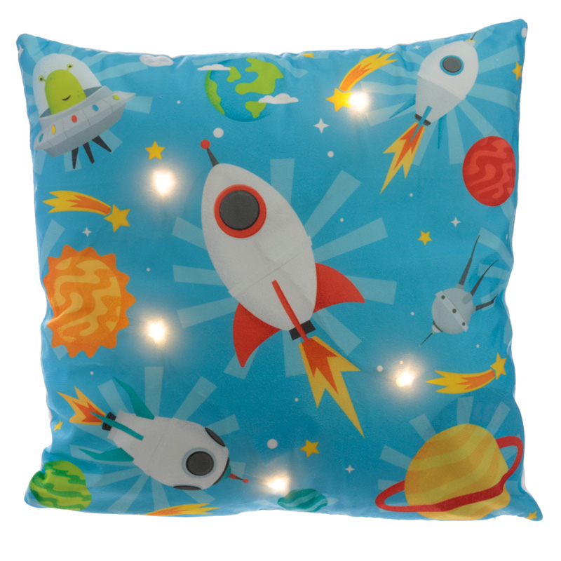 Decorative LED Cushion Retro Space Cadet