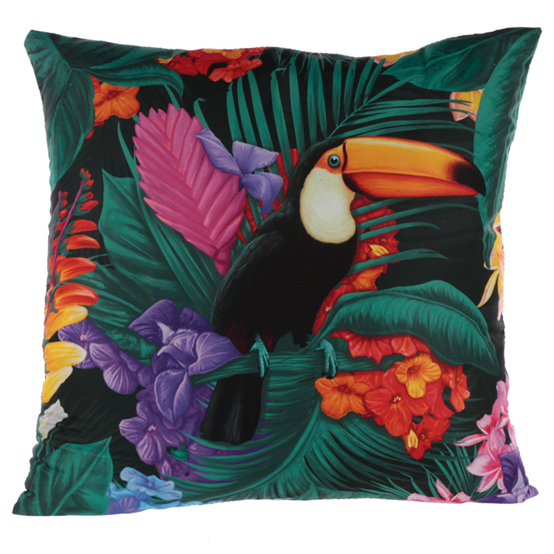 Cushion with Insert Toucan Party