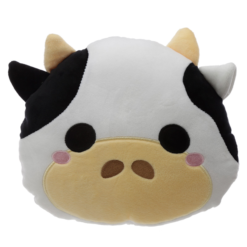 Plush Cutiemals Cow Cushion