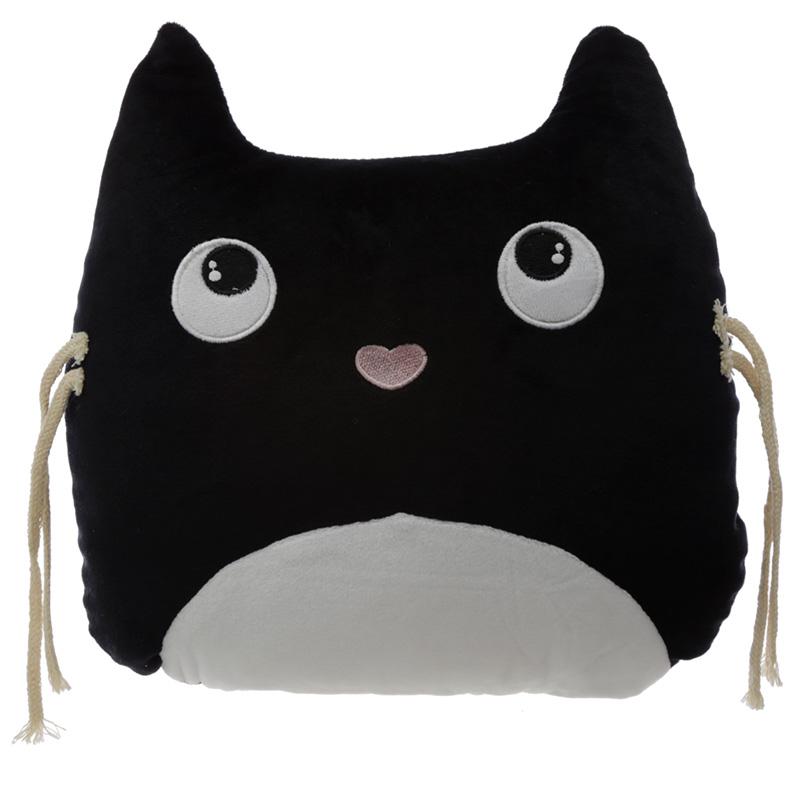 Plush Feline Fine Cat Cushion