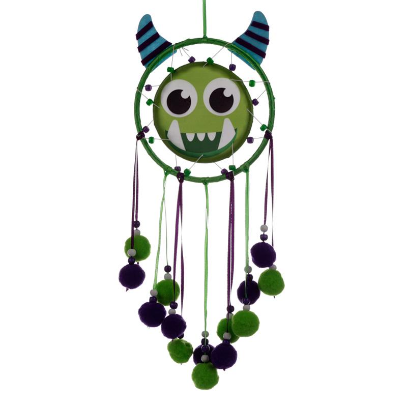 Cute Fun Green Monster Monstarz Dreamcatcher