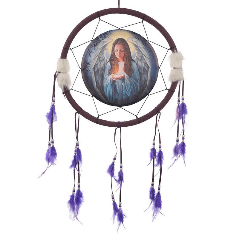 Decorative Guardian Angel 34cm Dreamcatcher