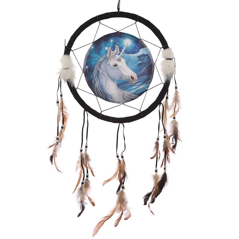 Decorative Mystical Unicorn 34cm Dreamcatcher