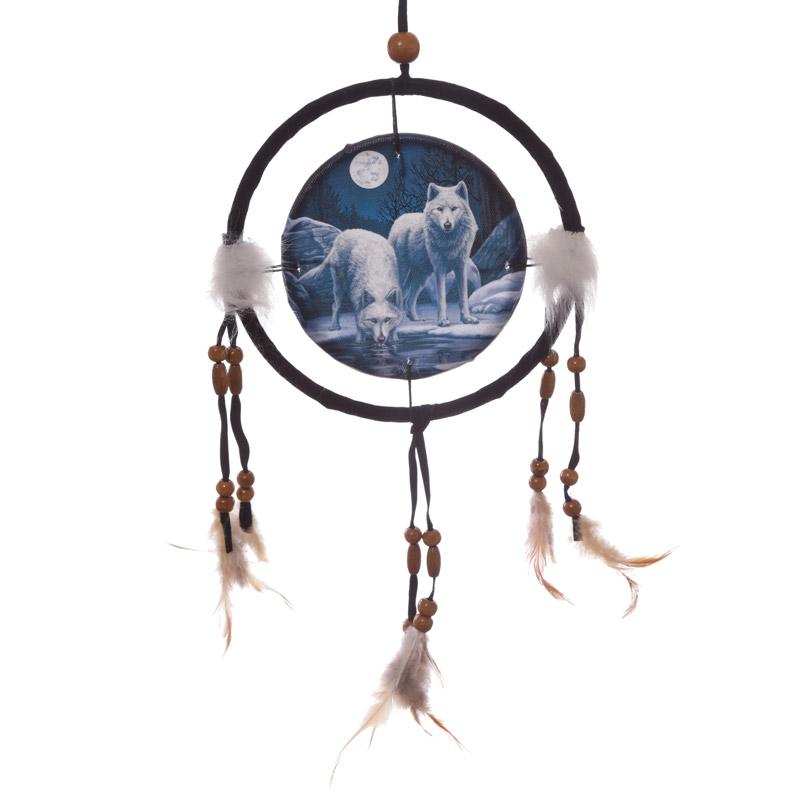 Decorative Wolf Warriors of Winter 16cm Dreamcatcher