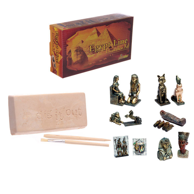 Fun Excavation Dig it Out Kit Egyptian Treasure