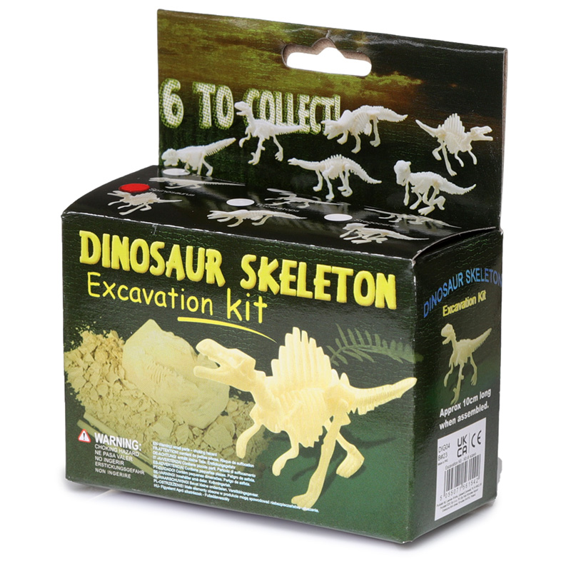 Fun Excavation Dig it Out Kit Small Dino Skeleton