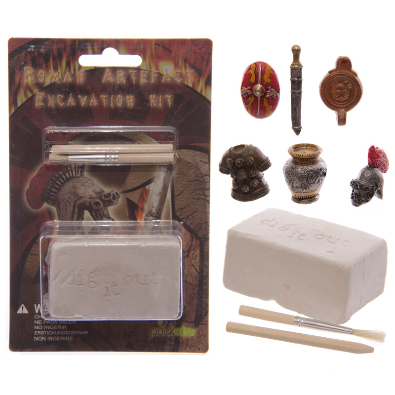 Fun Excavation Kit - Ancient Roman Treasure, Educational Toys