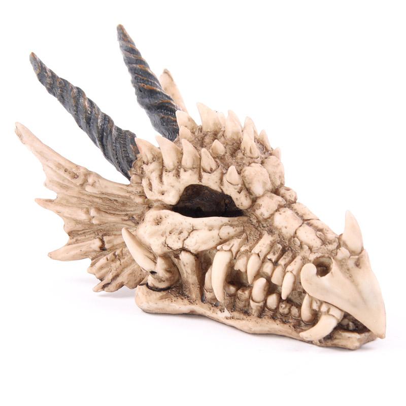 Fantasy Dragon Skull Money Box