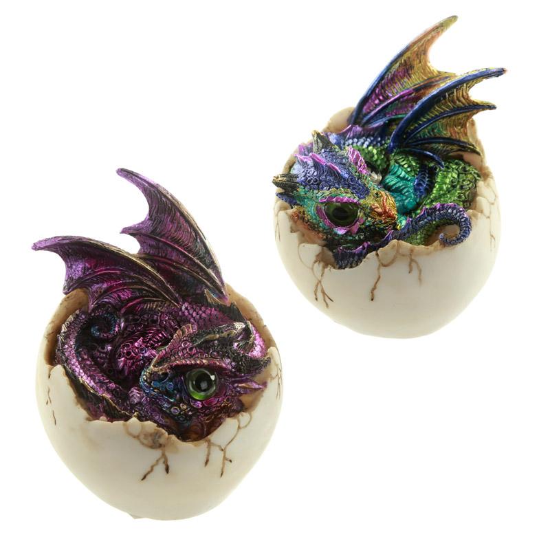 Futuristic Fantasy Nightmare Dragon Figurine