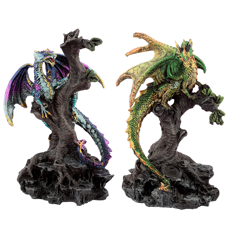 Forest Protector Dark Legends Dragon Figurine