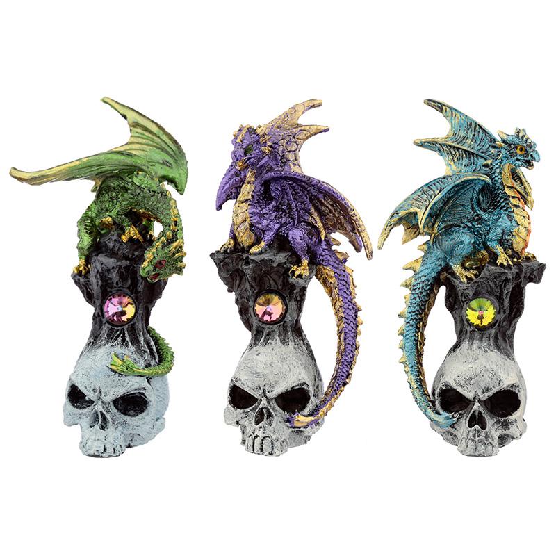 Skull Dragon Dark Legends Dragon Figurine