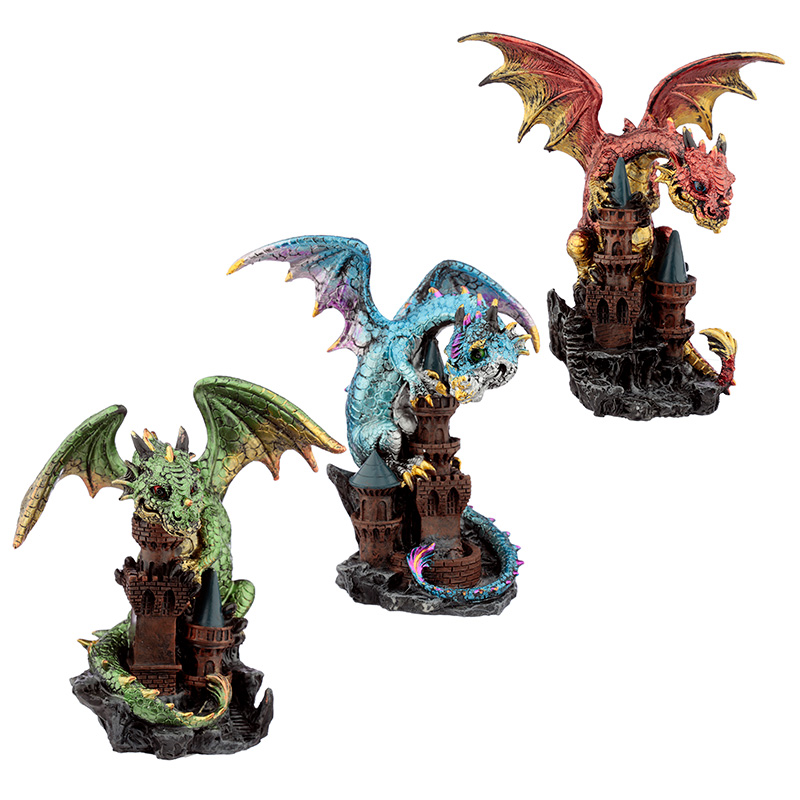 Castle Protector Elements Dragon Figurine