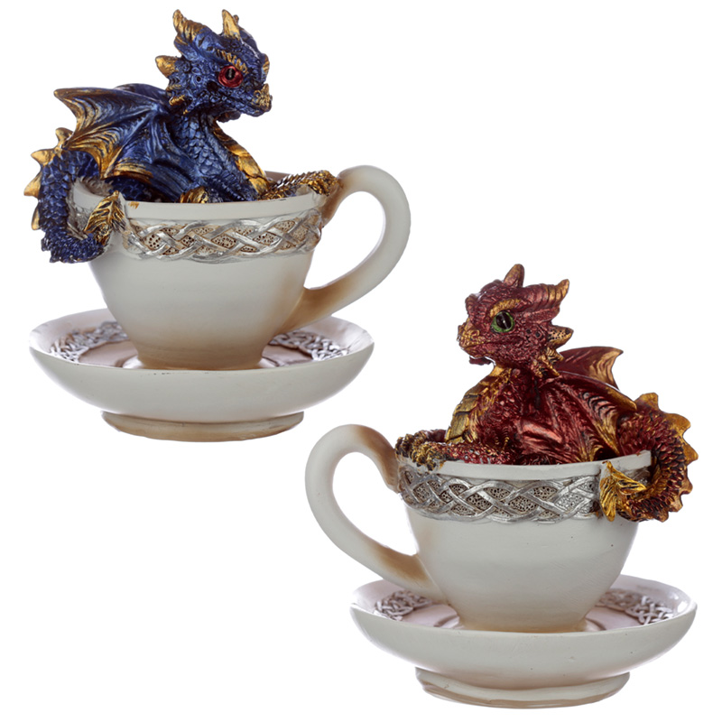 Elements Baby Dragon in a Teacup