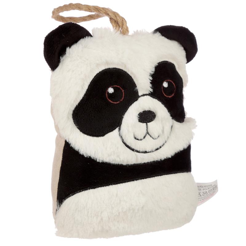 Interior Door Stop Plush Panda Head