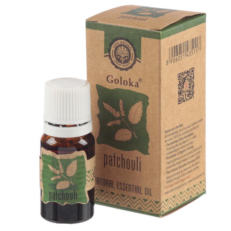 Goloka Essential Oils 10ml Patchouli