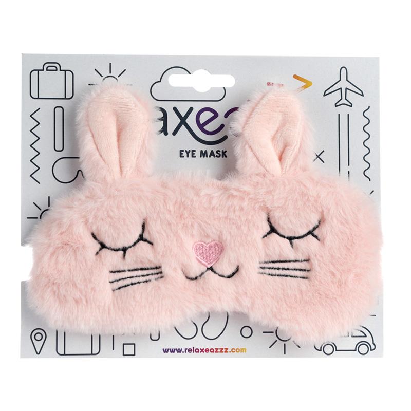 Fun Eye Mask Plush Cutiemals Bunny Rabbit