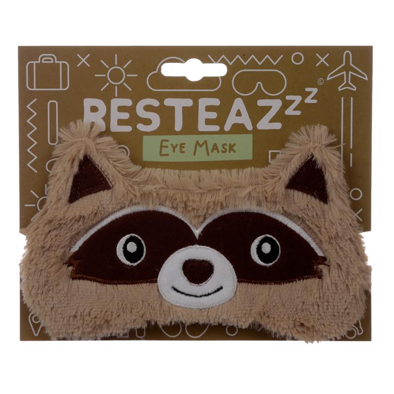 Fun Eye Mask Plush Raccoon