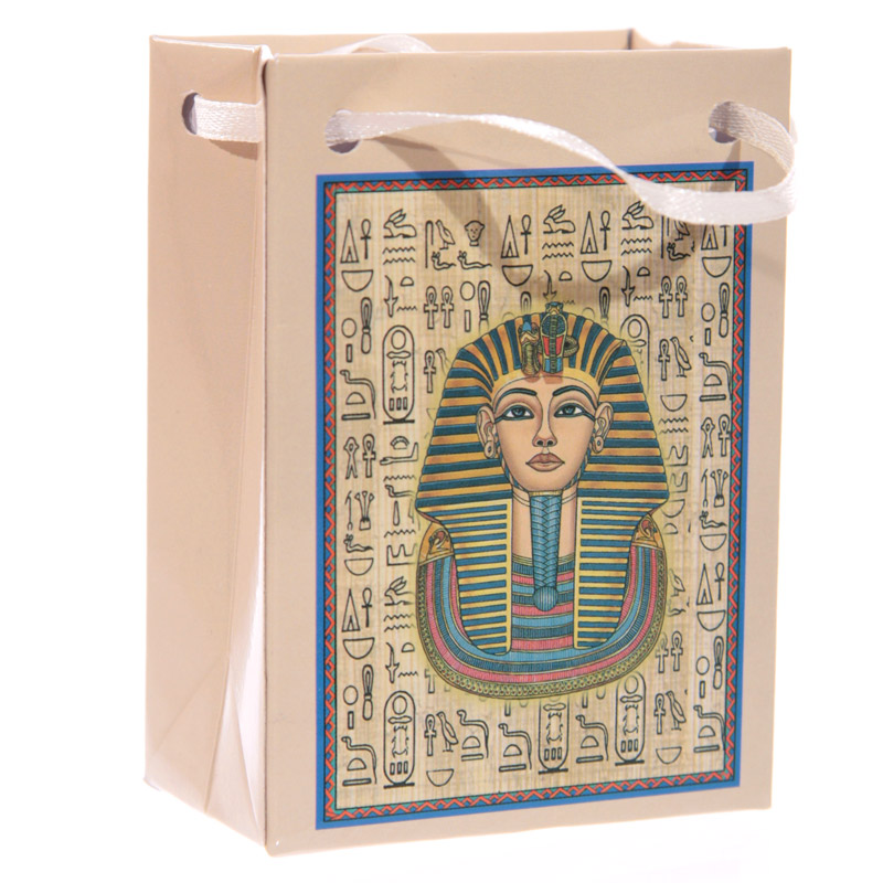 Mini-EGYPTIAN-FIGURE-Figurine-in-a-Bag-King-Tut-Nefertiti-Queen-Ornament