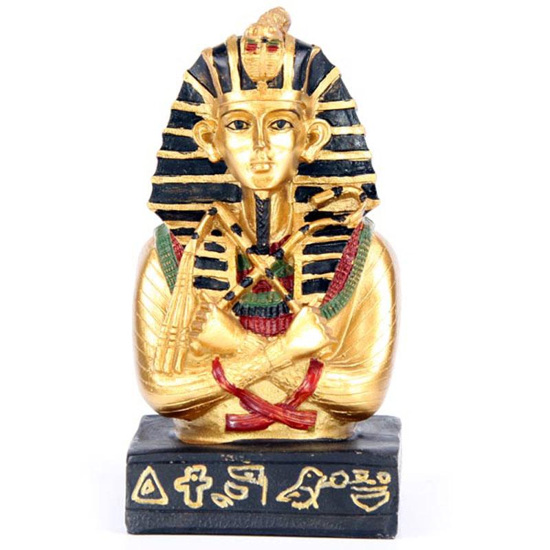 Decorative Egyptian Tutankhamen Bust Ornament