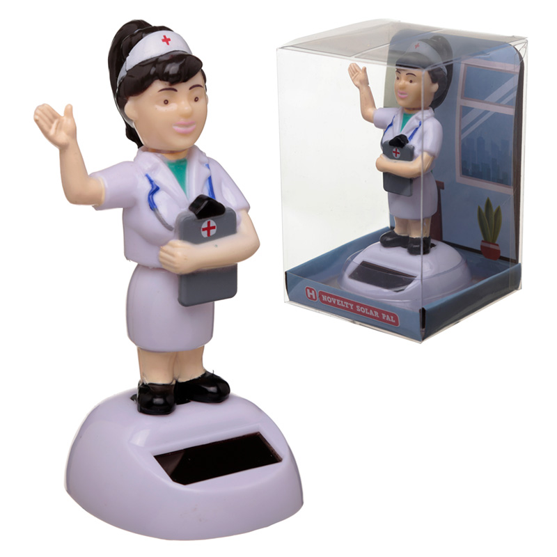 Collectable Nurse Solar Powered Pal