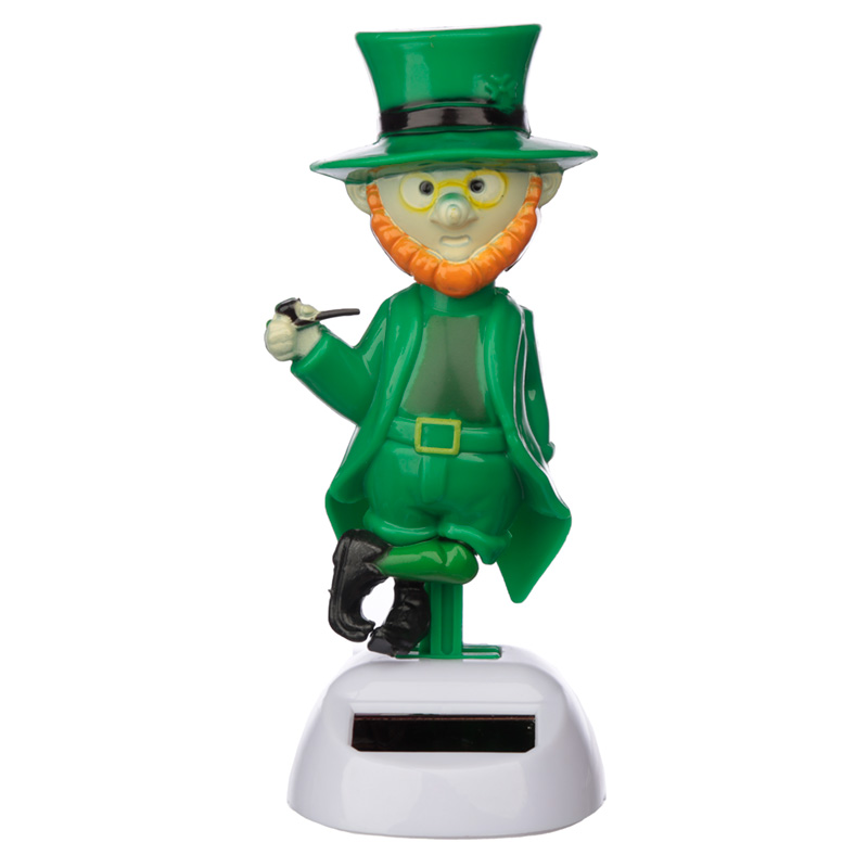 Fun Novelty Solar Pal Leprechaun