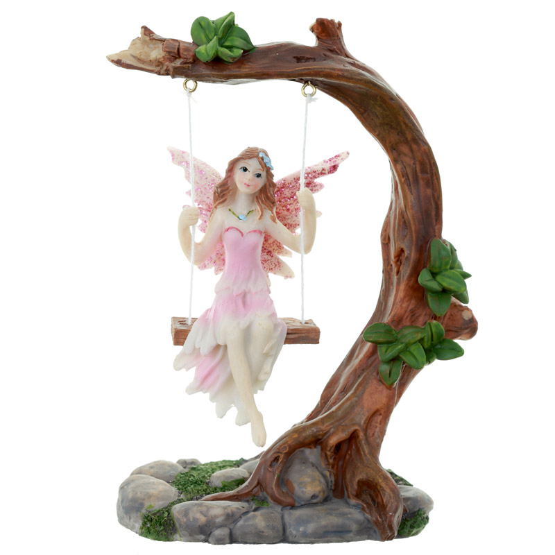 Collectable Flower Fairy Figurine Swing