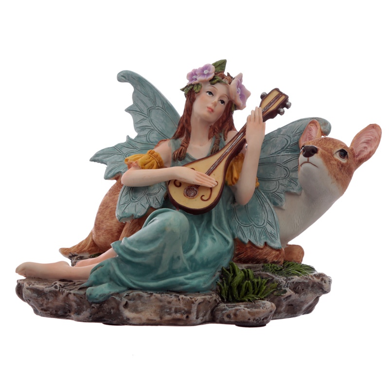 Fawn Lullaby Spirit of the Forest Fairy Figurine