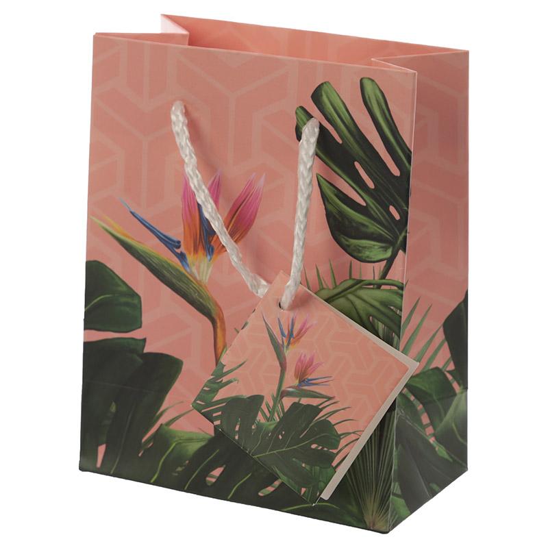 Decorative Tropical Paradise Small Gift Bag