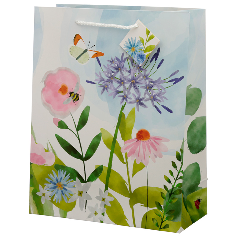 Botanical Gardens Design Large Gift Bag